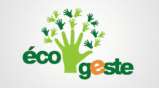 Design graphique et impression - conception du logo Eco Geste