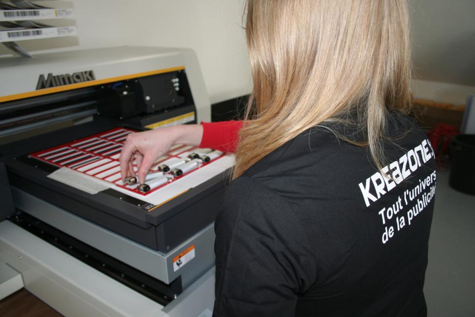 Nos métiers - atelier print - Kreazone