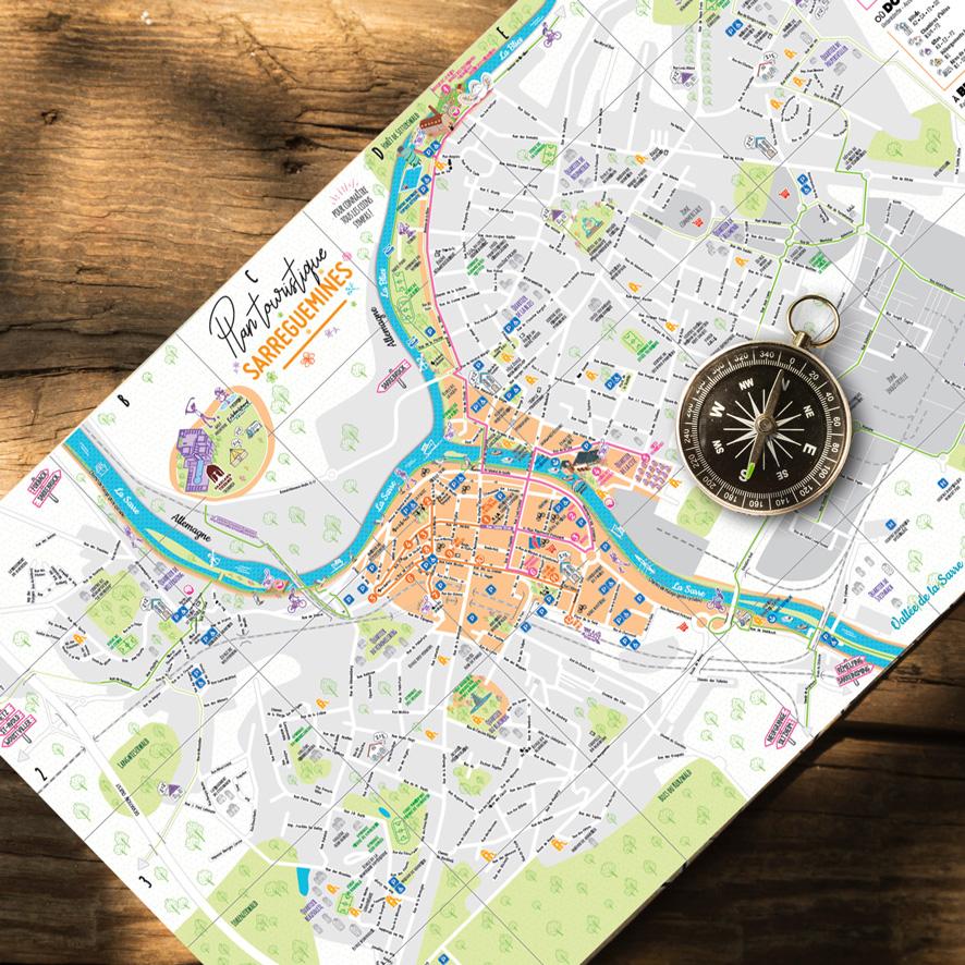 plan touristique sarreguemines