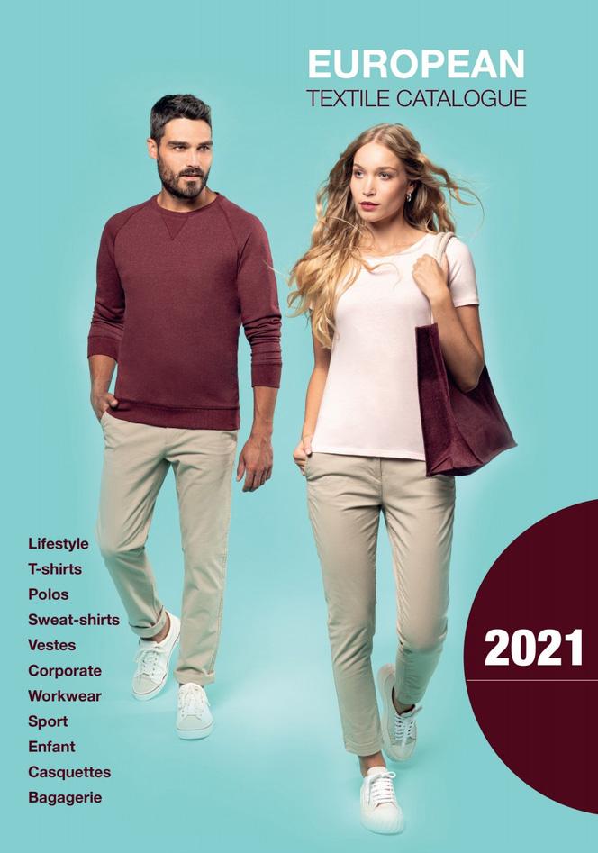 Catalogue vêtements flocage